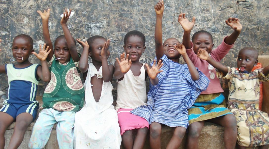 ガーナに暮らす子供たち
